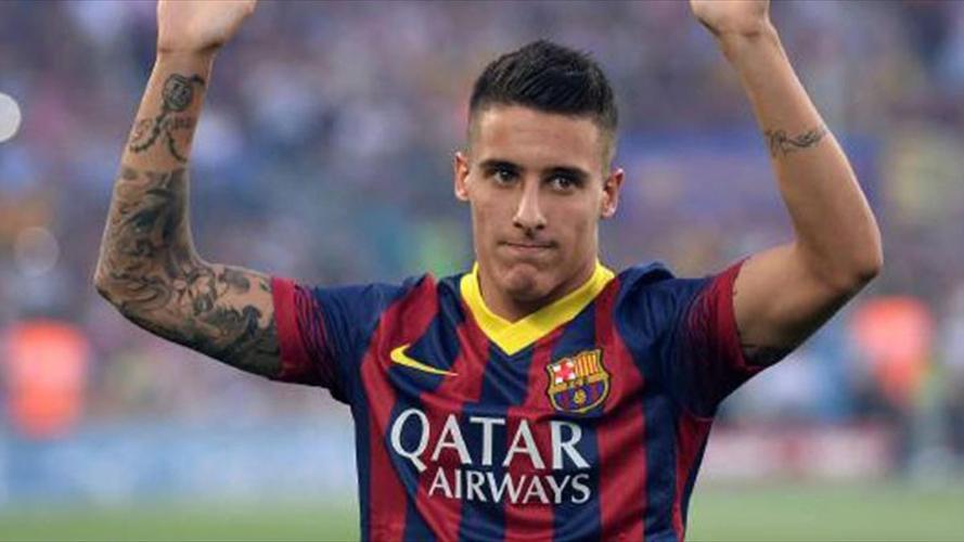 Cristian Tello Barcelona formasıyla