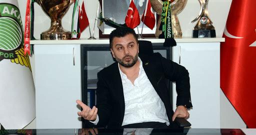 Akhisarspor Başkanı Evren Özbey