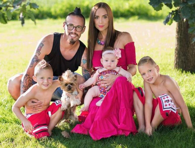 Marek Hamsik'in ailesi