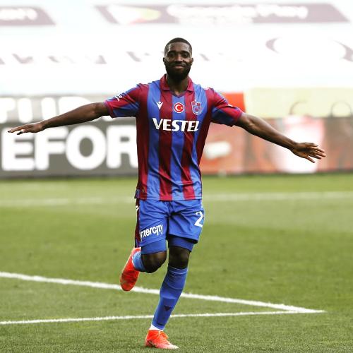 Son maçlarda kendini bulan Trabzonspor'un forveti Djaniny