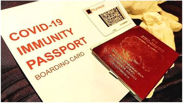 İngiltere'nin koronavirüs pasaportu