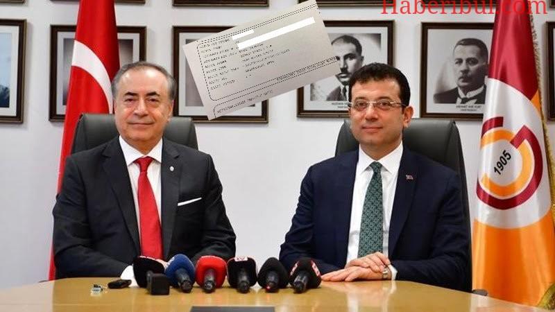 Ekrem İmamoğlu Galatasaray'ın Aslan Gibi Sponsor Kampanyasına Bağışta Bulundu! Fenerbahçe'nin Kampanyası İle Alakalı Bir Paylaşımda Bulunmadı!