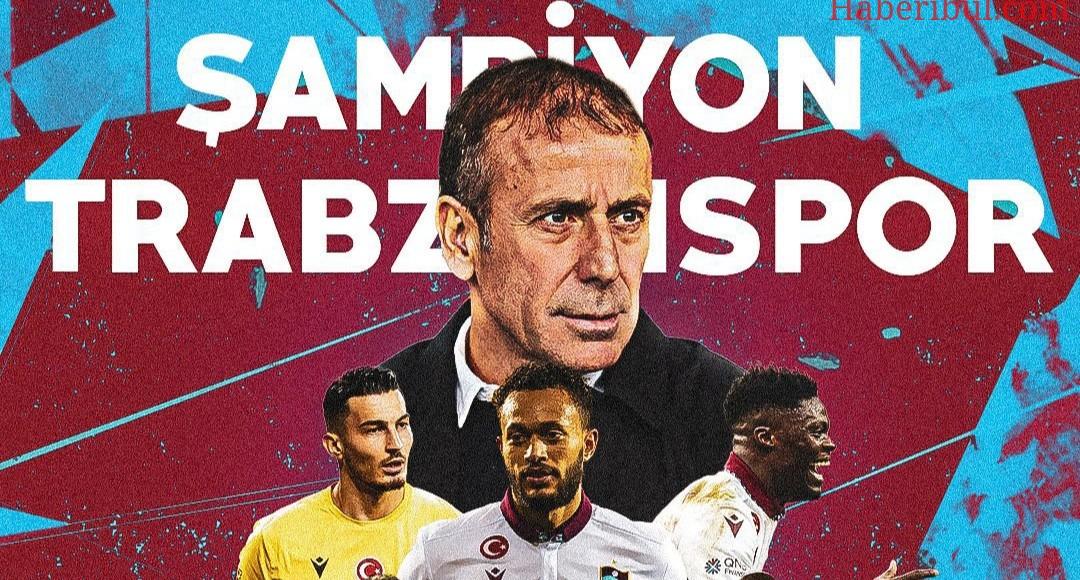 Trabzonspor Süper Kupayı 2 Golle Kazandı