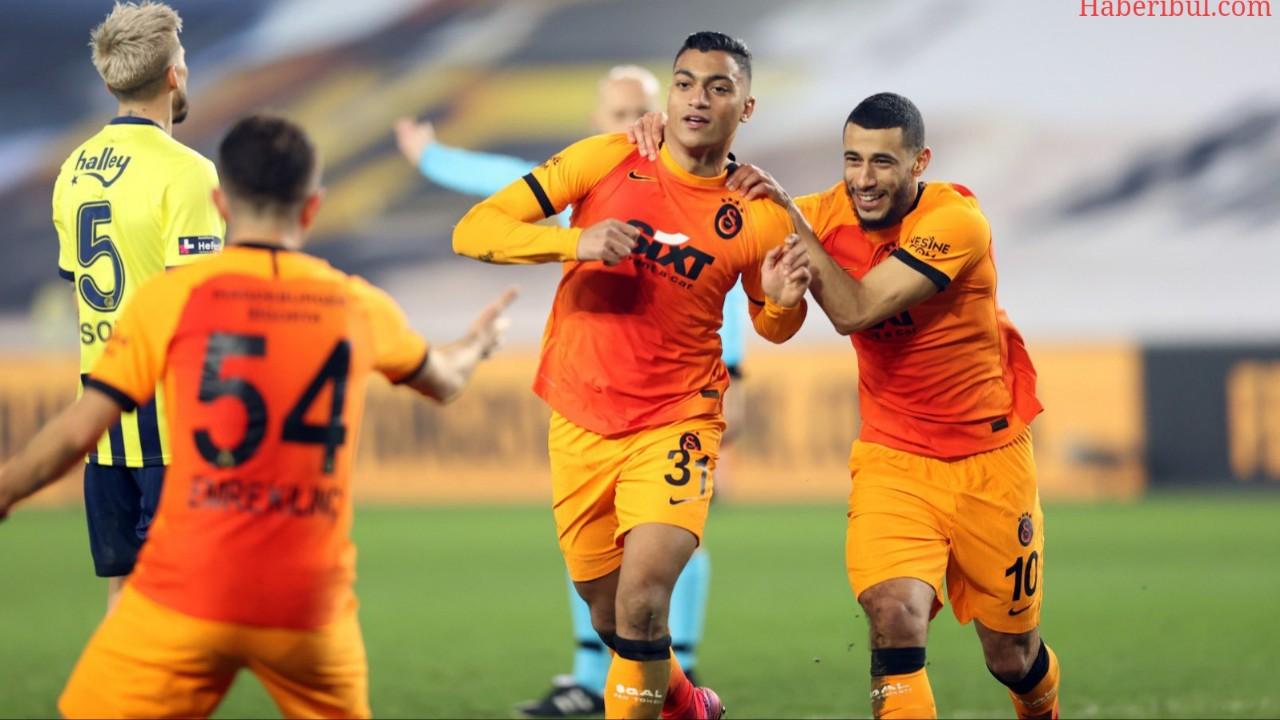 Galatasaray Deplasmanda Fenerbahçe'yi Yenerek Lider Oldu