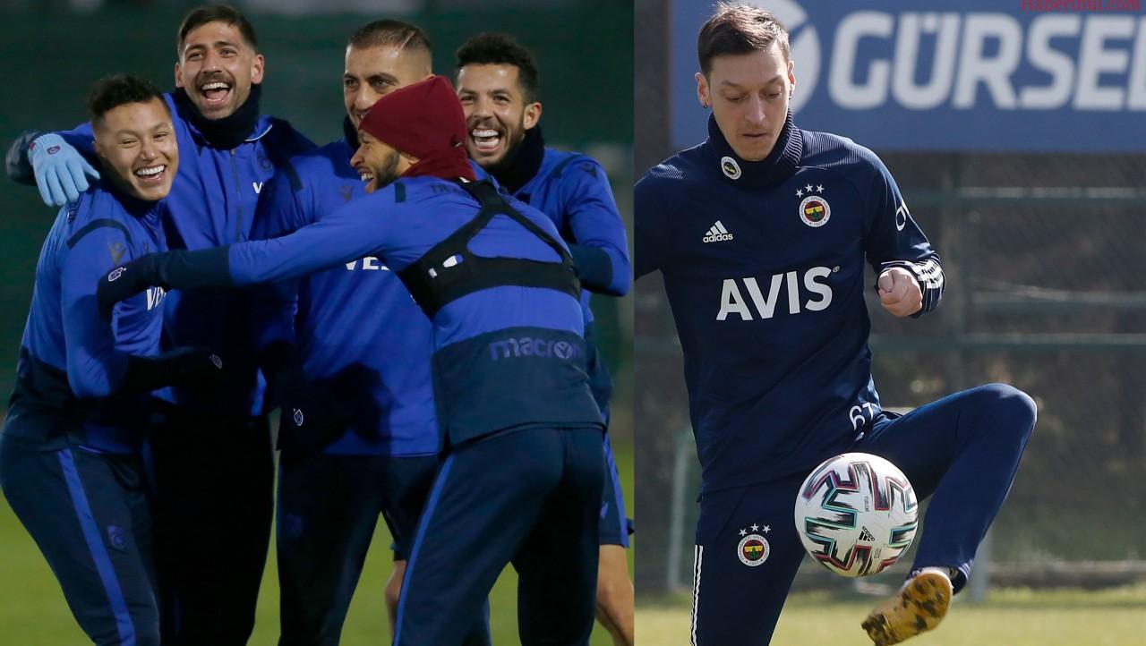 Trabzonspor - Fenerbahçe Maçının Muhtemel 11'leri