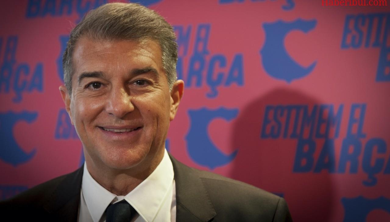 Barcelona'nın Yeni Başkanı Laporta Oldu