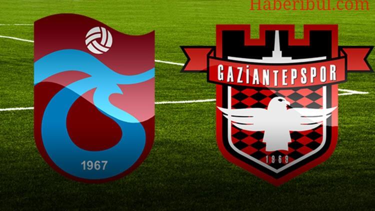 Trabzonspor'un Gaziantep Karşısındaki İlk 11'i Belli Oldu