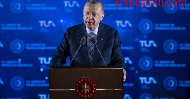 Cumhurbaşkanı Recep Tayyip Erdoğan Uzay Teknolojisinde 10 Hedefi Belirledi