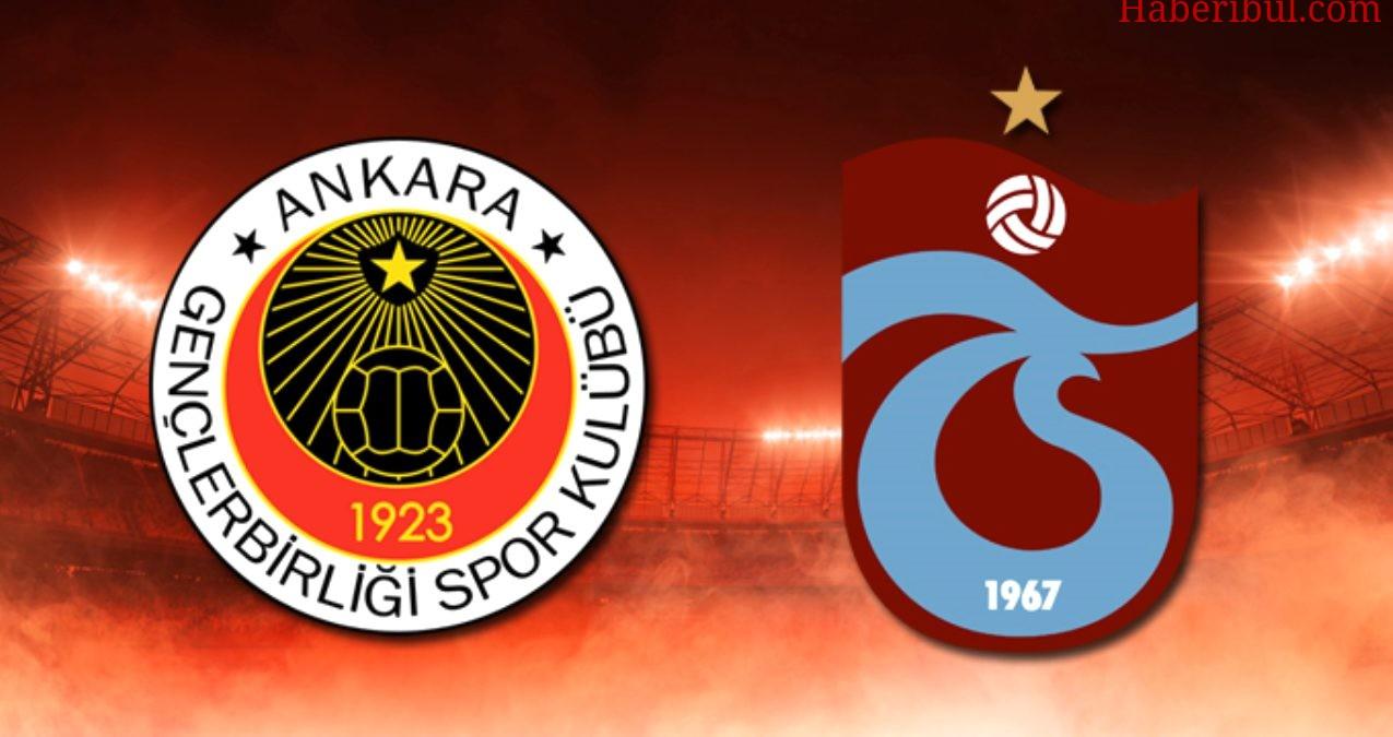 Trabzonspor'un Gençlerbirliği Karşısındaki İlk 11'i Belli Oldu