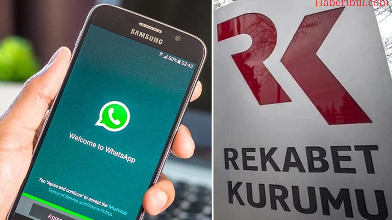 Rekabet Kurumu WhatsApp Kararını Verdi!