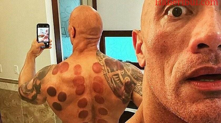 The Rock Vücudunu Hacamat İle Koruyor