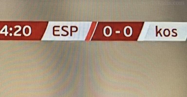 İspanya Basınından Kosova'ya Büyük Ayıp!