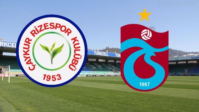 Trabzonspor'un Rizespor Karşısındaki İlk 11'i Belli Oldu