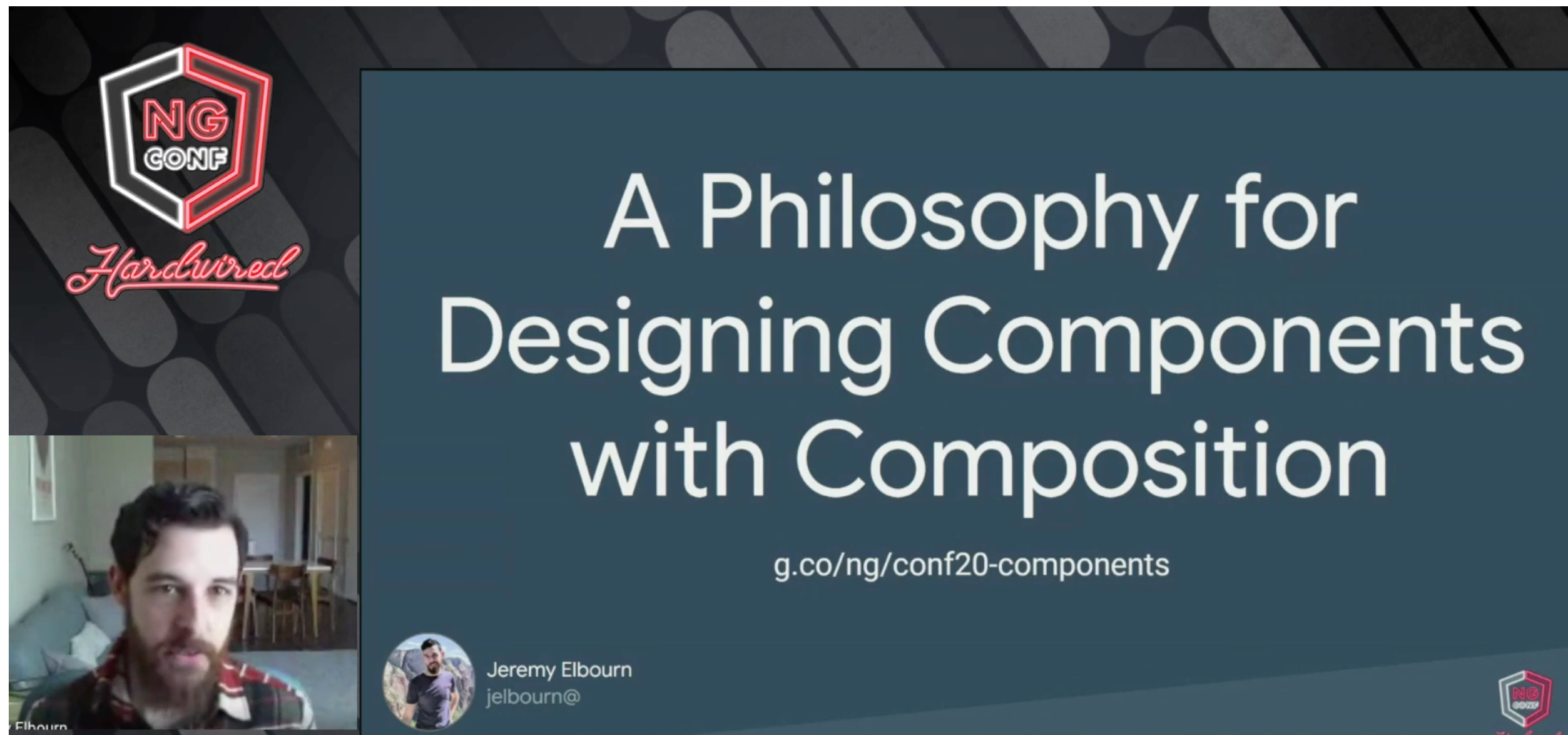 A Philosophy for Designing Components with Composition