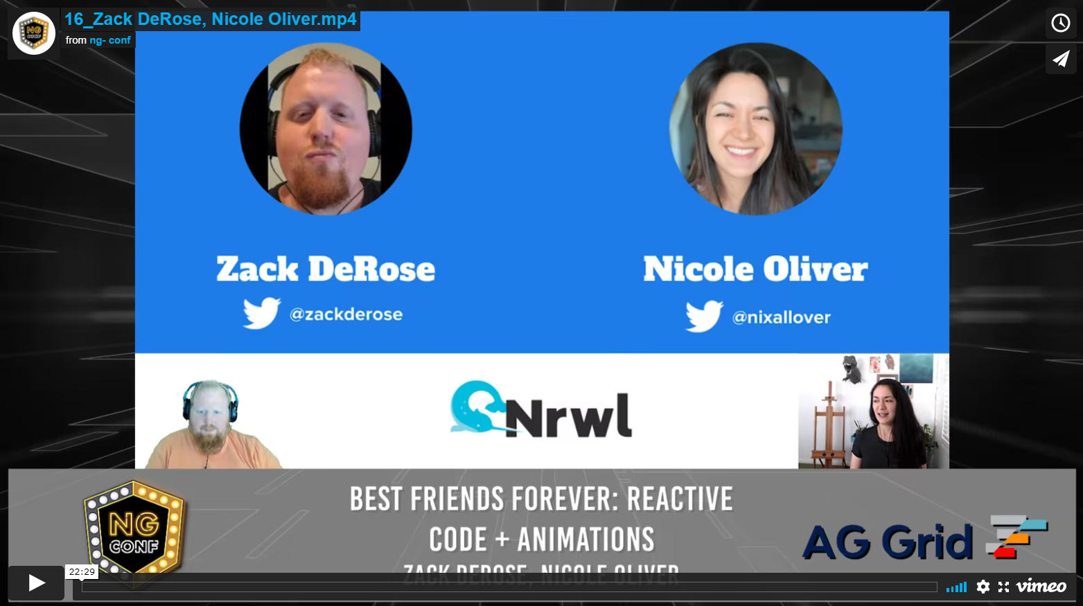 Best Friends Forever: Reactive Code + Animations