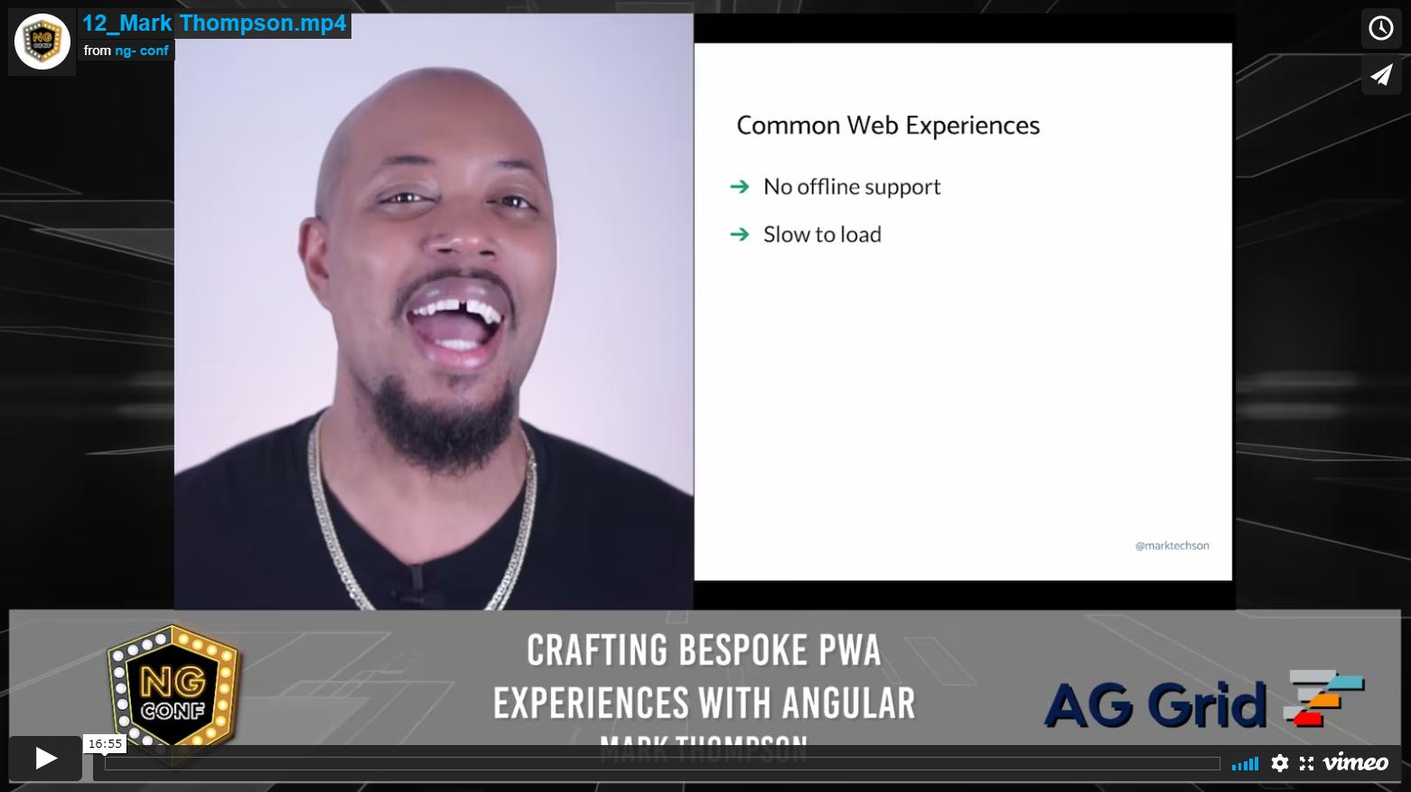 Crafting Bespoke PWA experiences with Angular