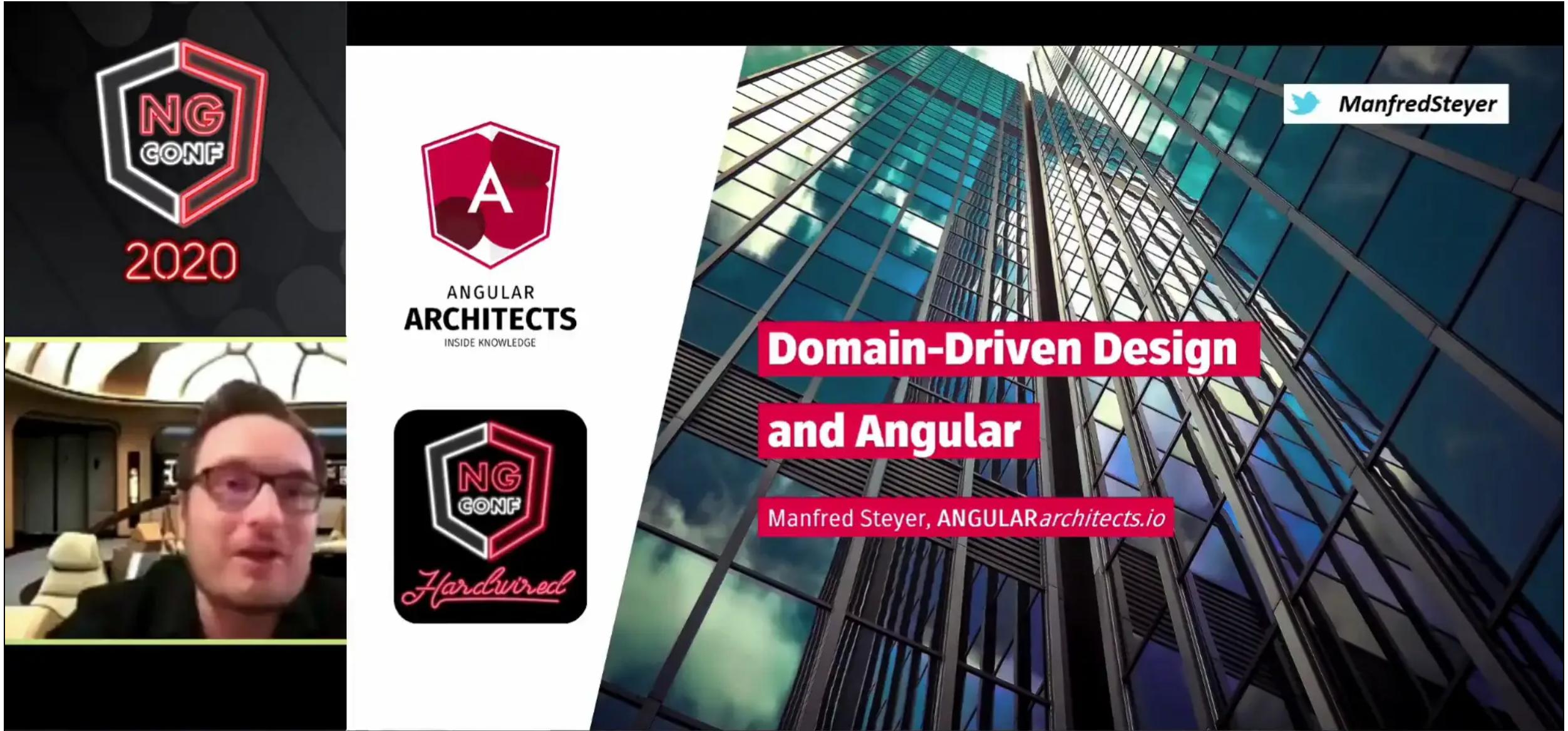 Domain-Driven Design and Angular