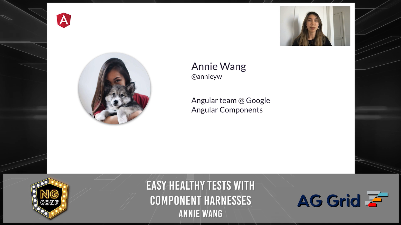 Easy healthy tests with component harnesses