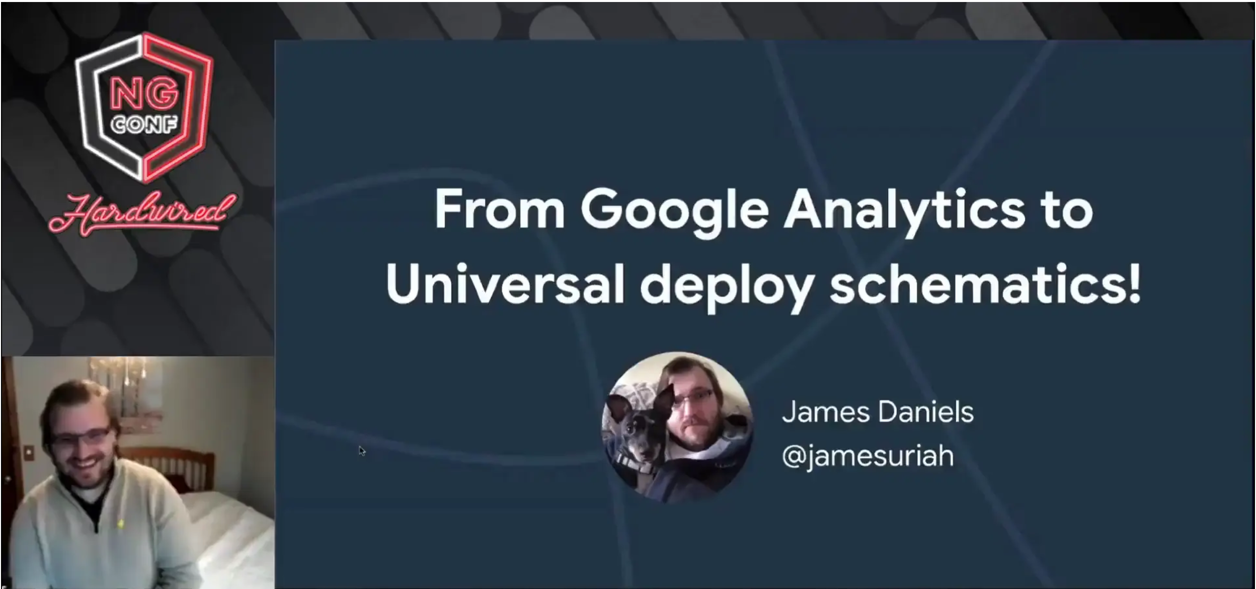 From Google Analytics to Universal Deploy Schematics!