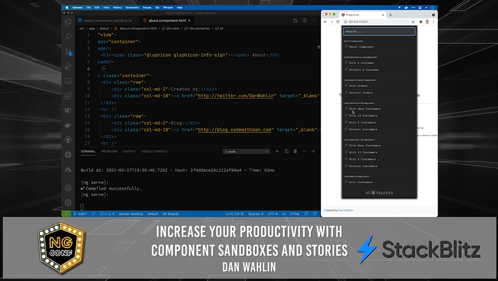 Increase Your Productivity with Component Stories