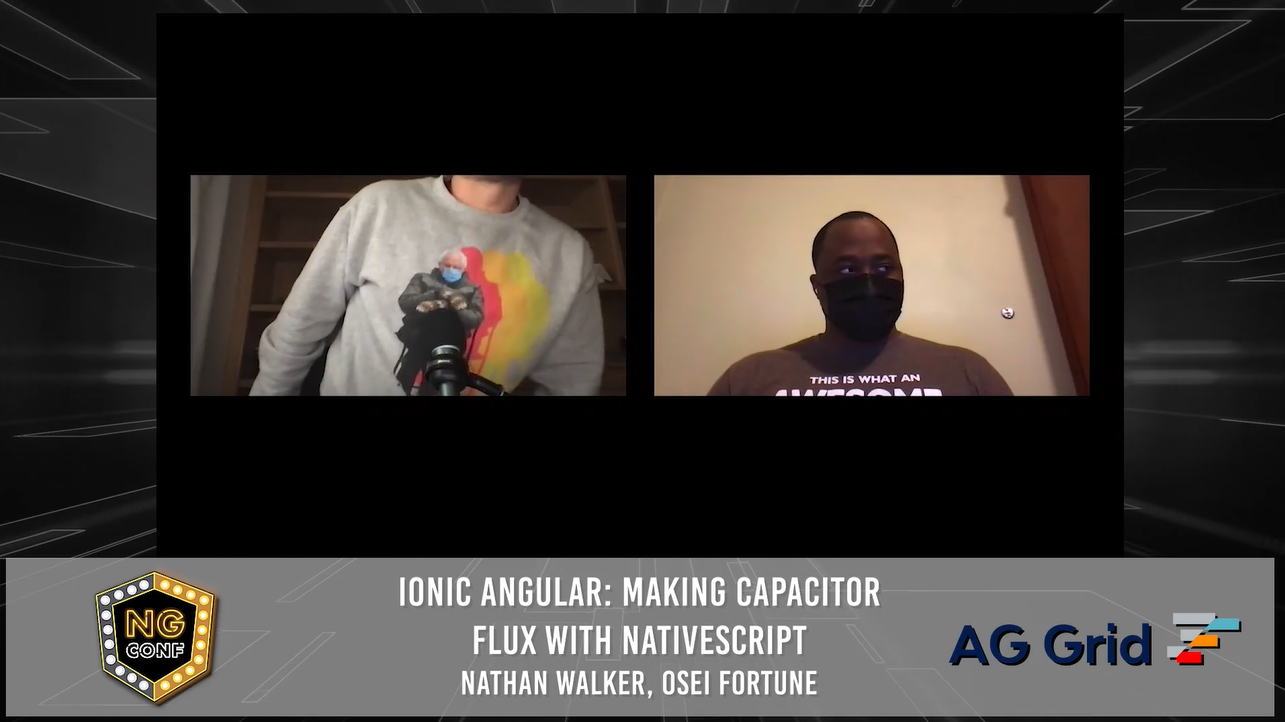Ionic Angular: Making Capacitor Flux with NativeScript