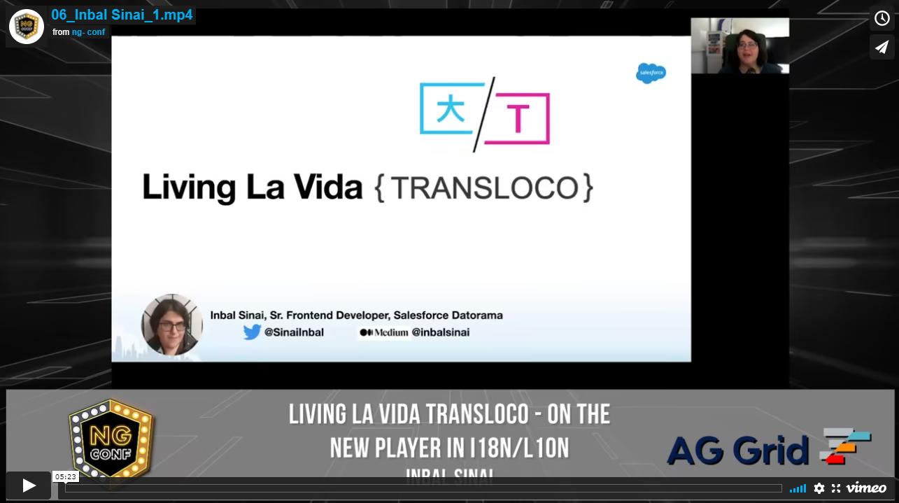 Living La Vida Transloco - On the New Player in i18n/l10n