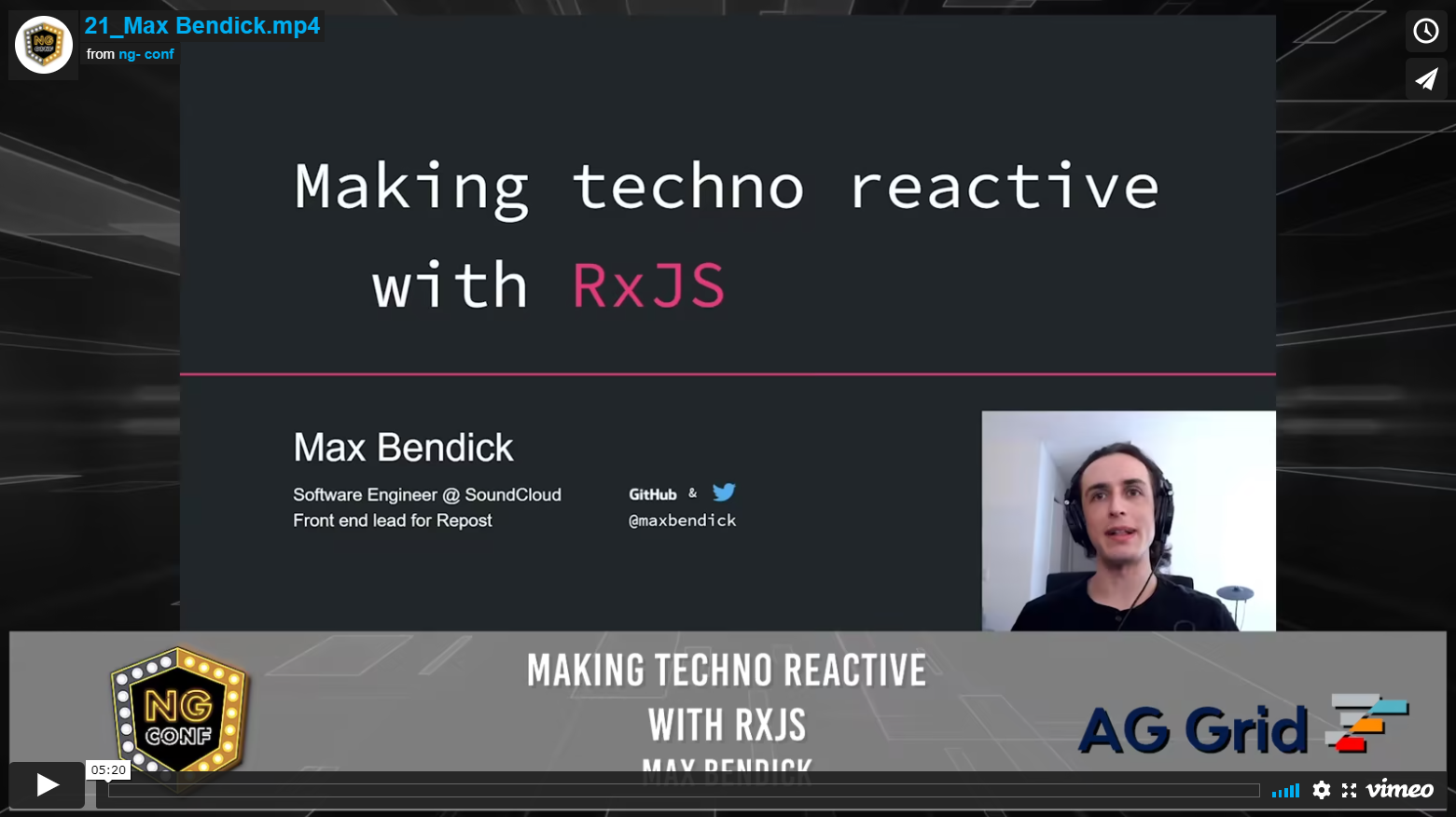 Making Techno Reactive with RxJS