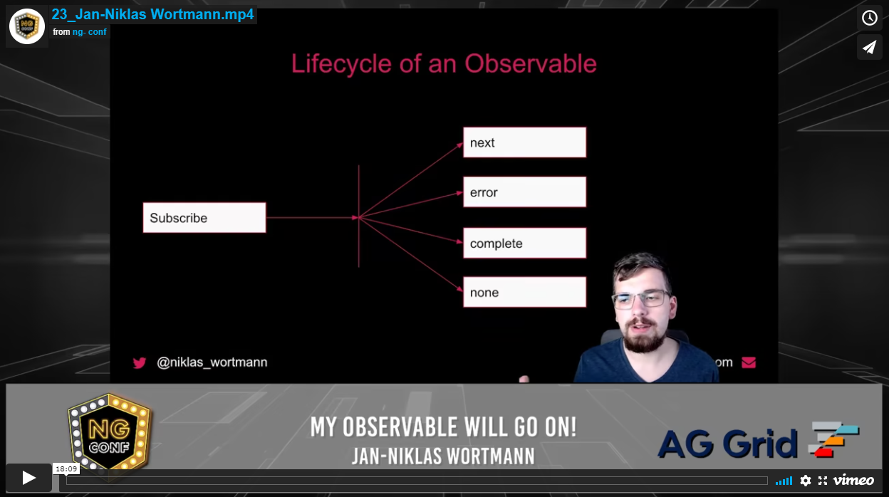 My Observable Will Go On!