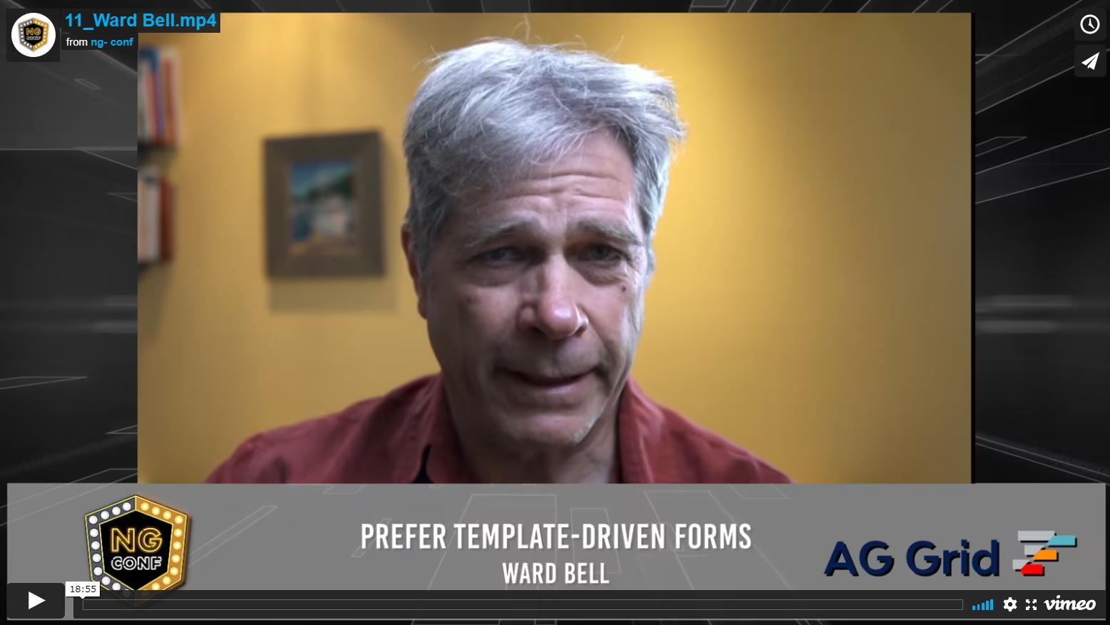 Prefer Template-Driven Forms