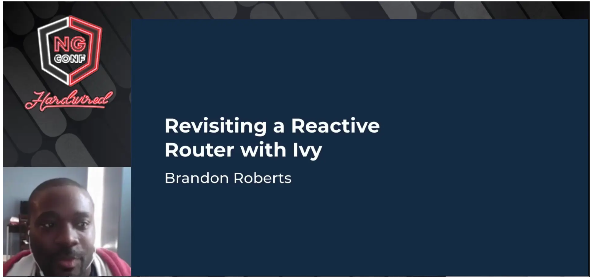 Revisiting a Reactive Router with Ivy