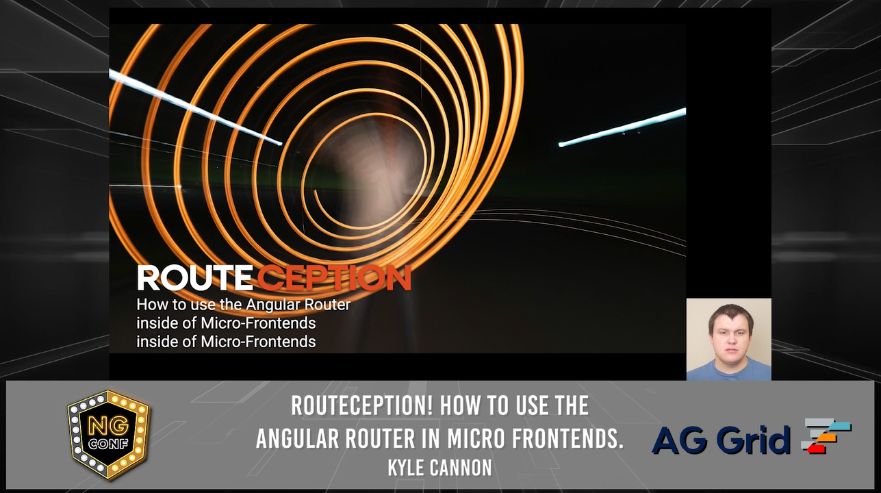 Routeception! How to use the Angular Router in Micro-Frontends