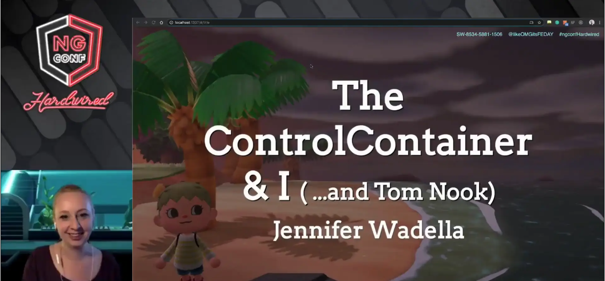 The Control Container and I