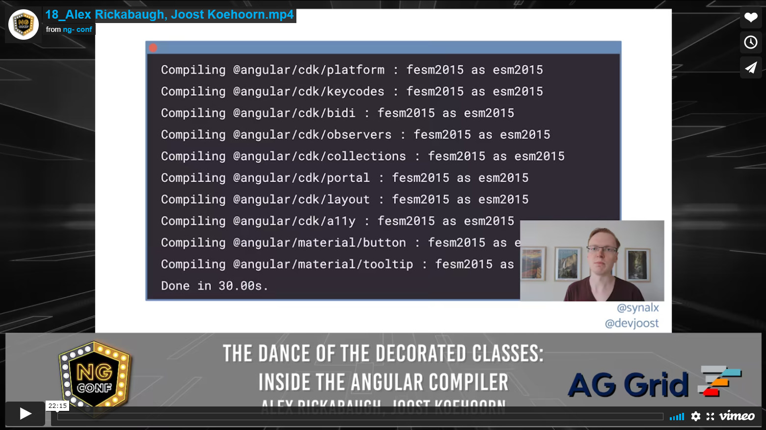 The Dance of the Decorated Classes: Inside the Angular Compiler