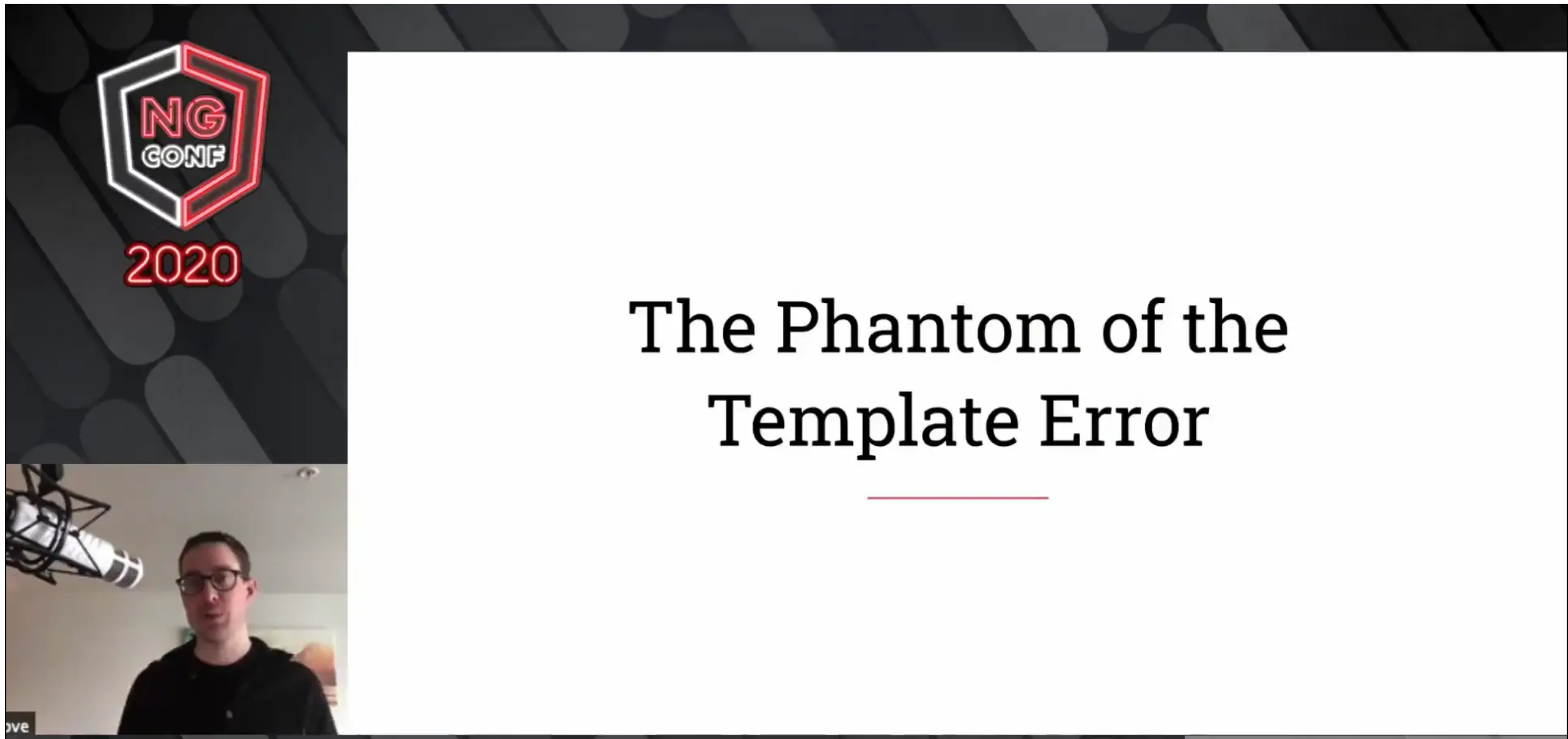 The Phantom of the Template Error