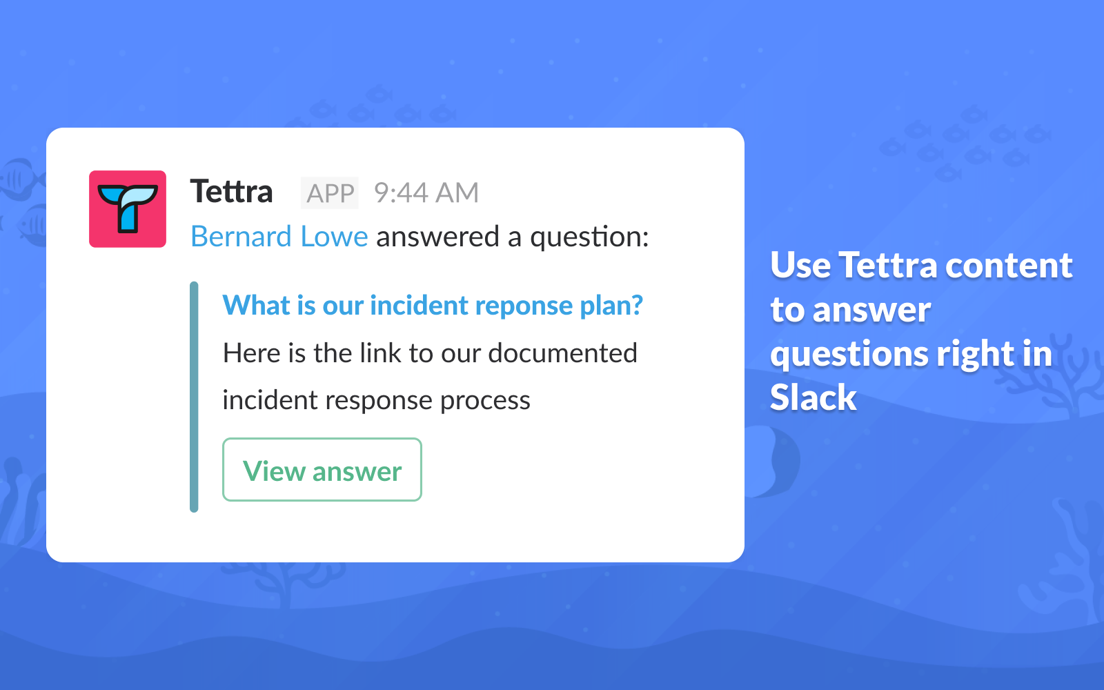 Answer questions where they're being asked with Q&A for Slack