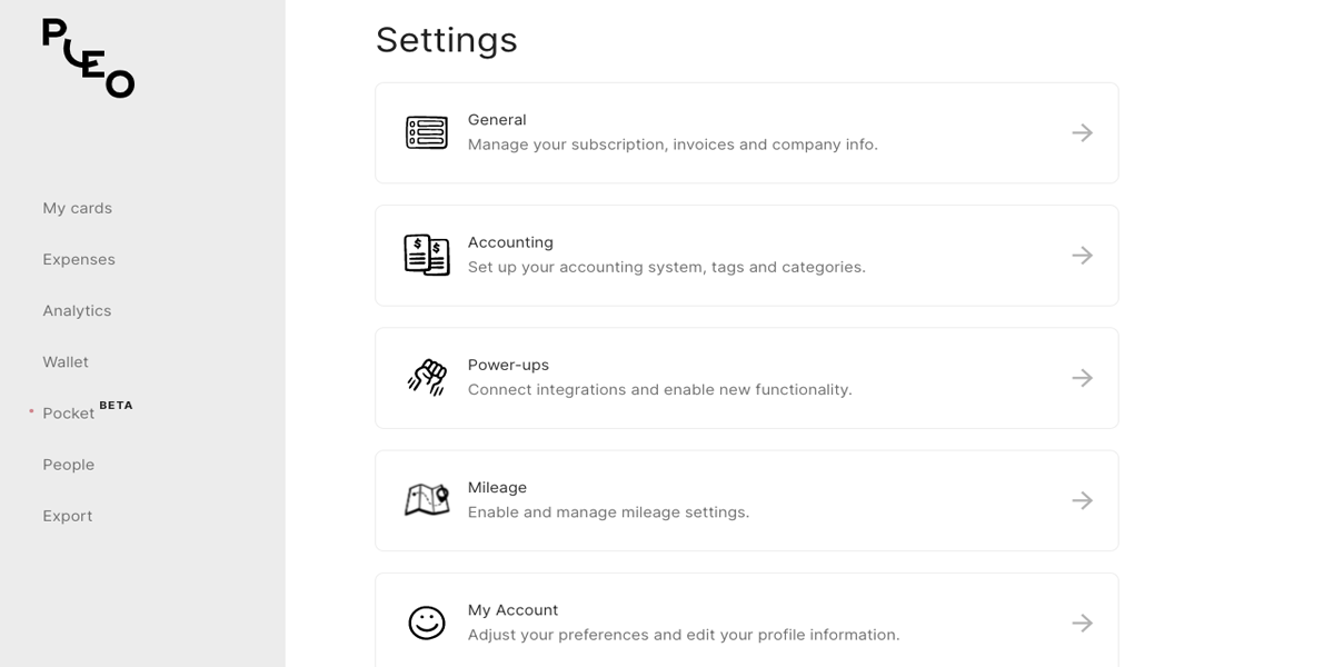 Settings: new and improved