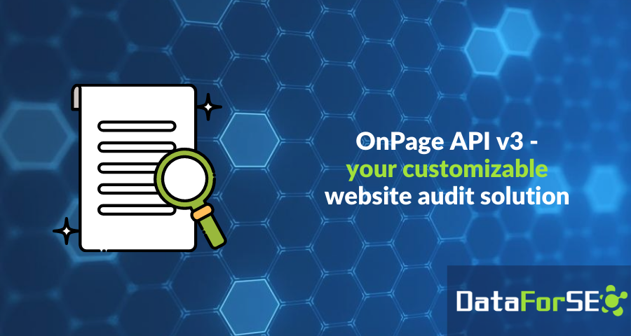 OnPage API v3 - something you've been waiting for 😉