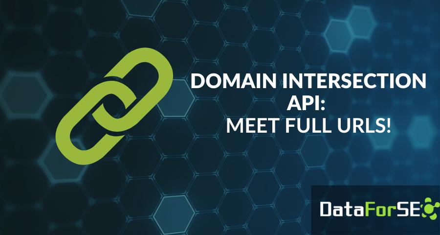 Domain Intersection API: meet full URLs of ranked websites