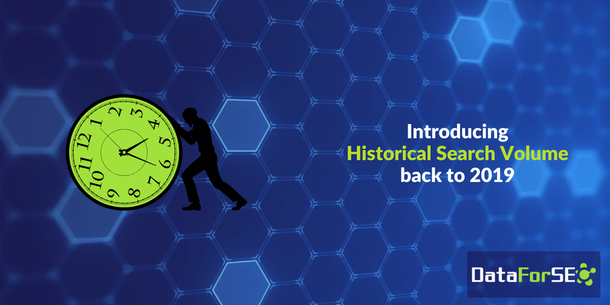 Introducing Historical Search Volume