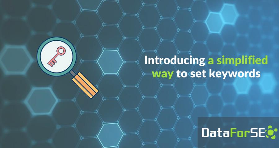 Introducing a simplified way to set keywords