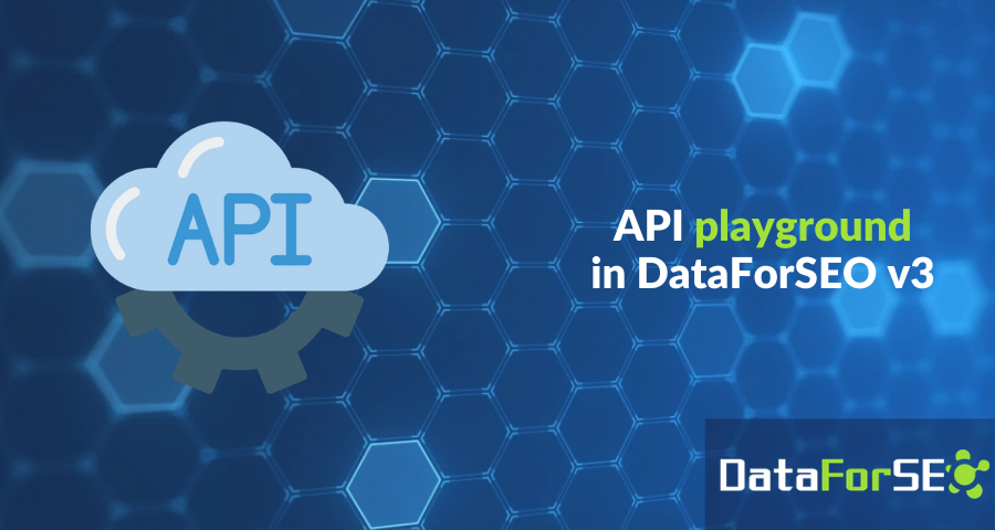 API playground in your dashboard 🎮