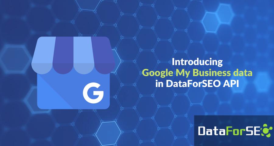 Introducing Google My Business Data