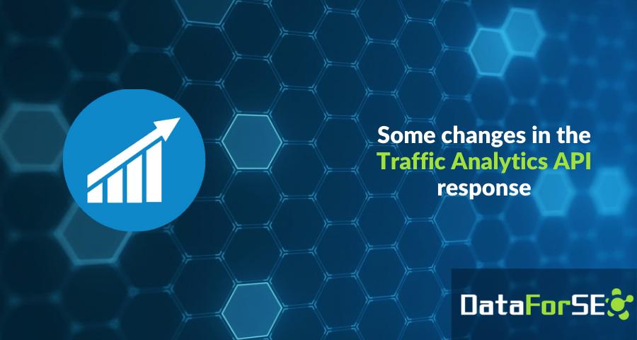 Traffic Analytics API response changes ❗