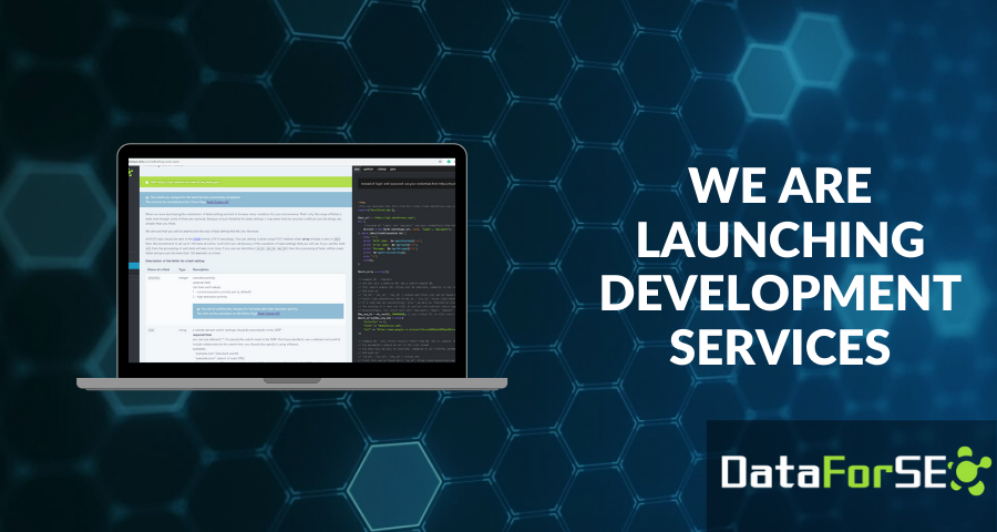 DataForSEO launches development services 👩‍💻