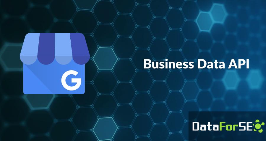 Introducing Business Data API