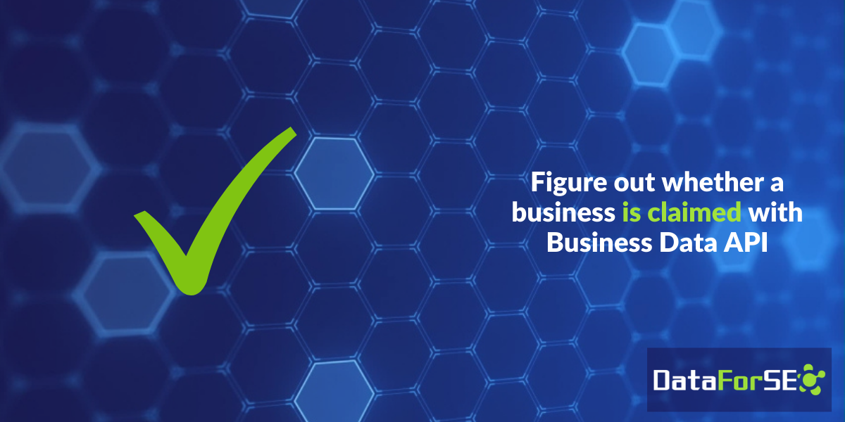 Find out whether a business is claimed