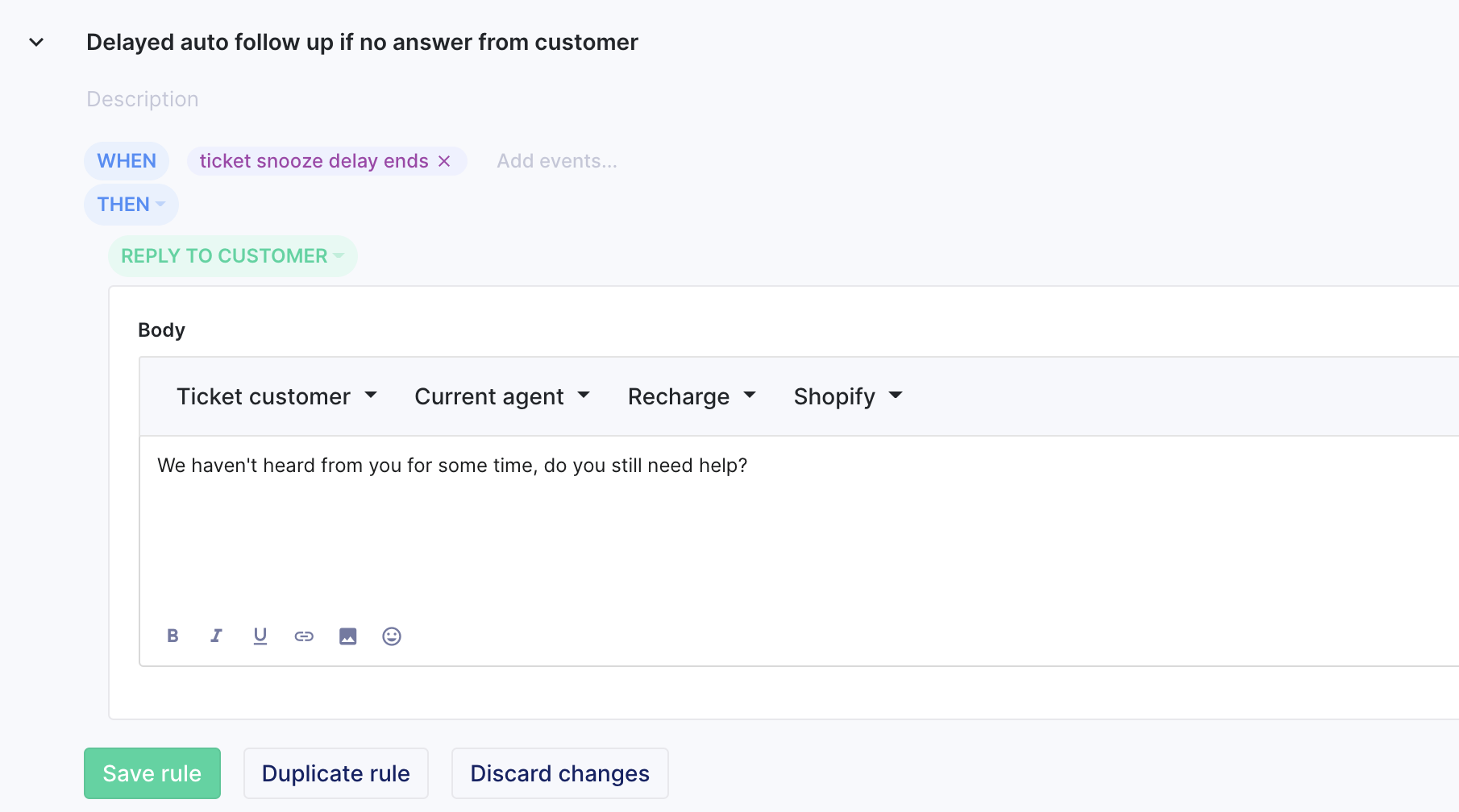 Featured image for Delay actions in rules based on customer activity