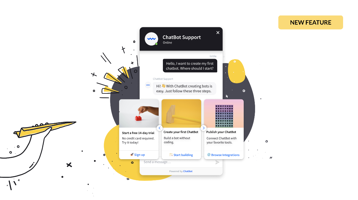 New: Create ChatBot Accounts for Your Clients