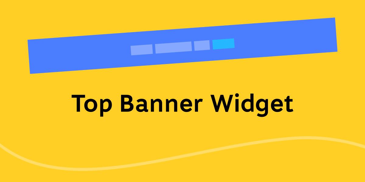 Top Banner Widget