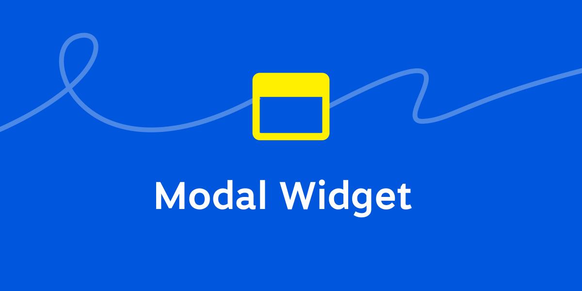 Modal Widget